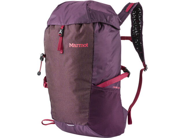 Marmot Kompressor Ultralight Pack Dark Purple/Brick